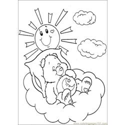 Care Bears 35 Free Coloring Page for Kids