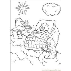 Care Bears 36 Free Coloring Page for Kids