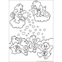 Care Bears 37 Free Coloring Page for Kids