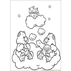 Care Bears 38 Free Coloring Page for Kids
