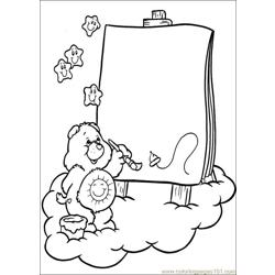 Care Bears 40 Free Coloring Page for Kids