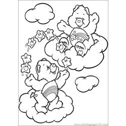 Care Bears 41 Free Coloring Page for Kids