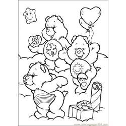 Care Bears 44 Free Coloring Page for Kids