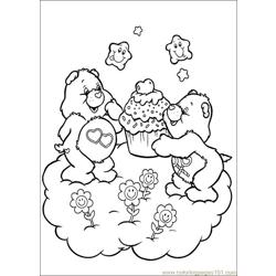 Care Bears 45 Free Coloring Page for Kids