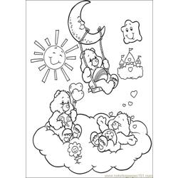 Care Bears 46 Free Coloring Page for Kids