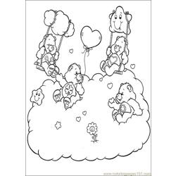Care Bears 47 Free Coloring Page for Kids