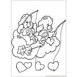 Care Bears 48 Free Coloring Page for Kids