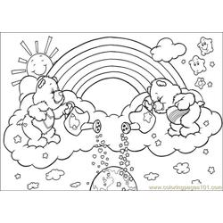 Care Bears 49 Free Coloring Page for Kids