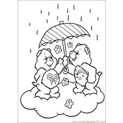 Care Bears 51 Free Coloring Page for Kids