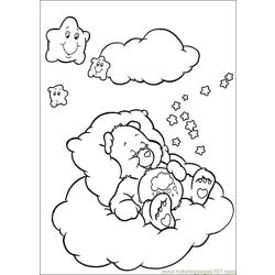 Care Bears 52 Free Coloring Page for Kids