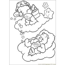 Care Bears 53 Free Coloring Page for Kids