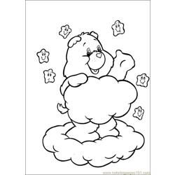 Care Bears 54 Free Coloring Page for Kids
