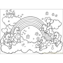 Care Bears 56 Free Coloring Page for Kids