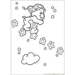 Care Bears 57 Free Coloring Page for Kids