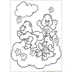 Care Bears 58 Free Coloring Page for Kids