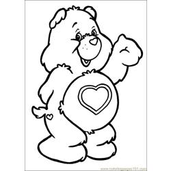 Care Bears 59 Free Coloring Page for Kids