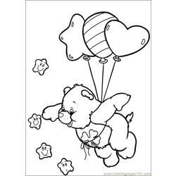 Care Bears 60 Free Coloring Page for Kids