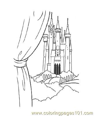 Notre Dame 14 Coloring Page