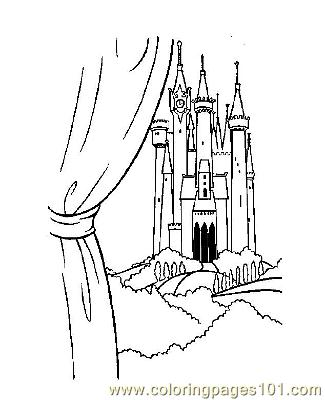 Notre Dame 2 Coloring Page