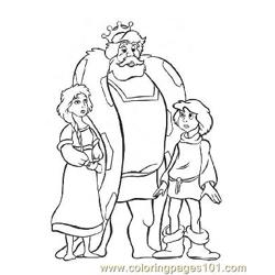 Notre Dame 10 Free Coloring Page for Kids