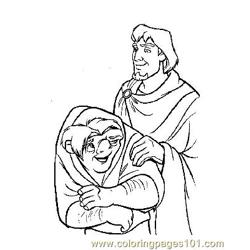 Notre Dame 12 Free Coloring Page for Kids