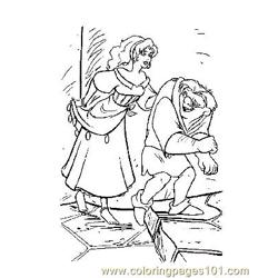 Notre Dame 13 Free Coloring Page for Kids