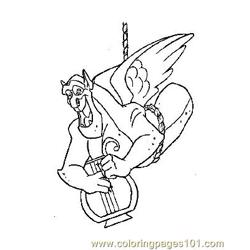 Notre Dame 20 Free Coloring Page for Kids