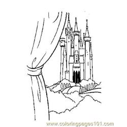 Notre Dame 2 Free Coloring Page for Kids