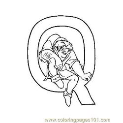 Notre Dame 8 Free Coloring Page for Kids