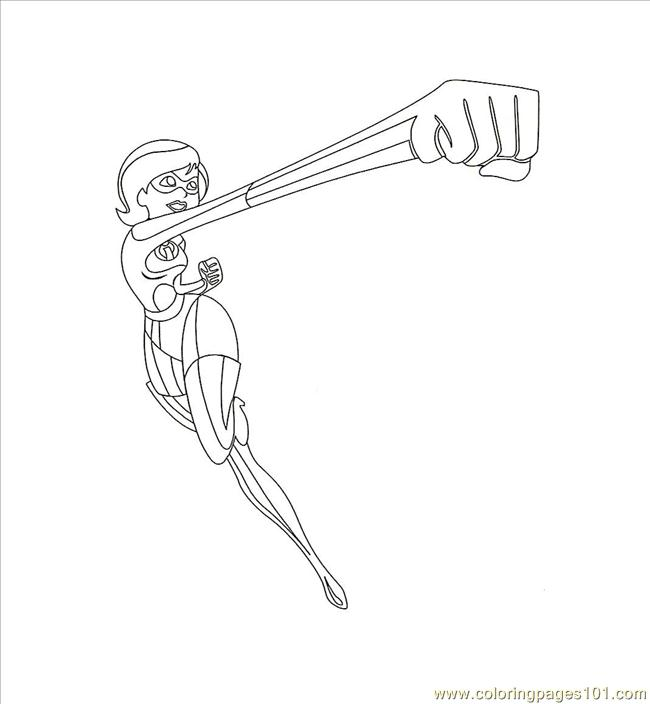 elastigirl incredibles coloring pages - photo#30