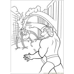 The Incredibles 10 coloring page