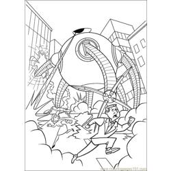 The Incredibles 11 coloring page