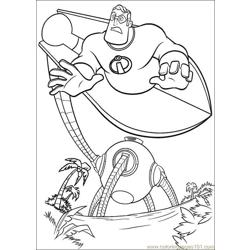The Incredibles 14 coloring page