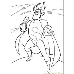 The Incredibles 15 coloring page