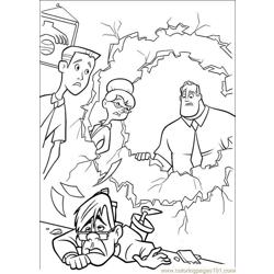 The Incredibles 17 coloring page