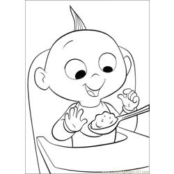 The Incredibles 18 coloring page