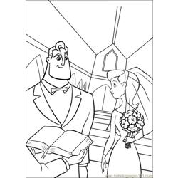 The Incredibles 21 coloring page