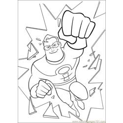 The Incredibles 23 coloring page
