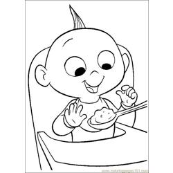The Incredibles 54 coloring page