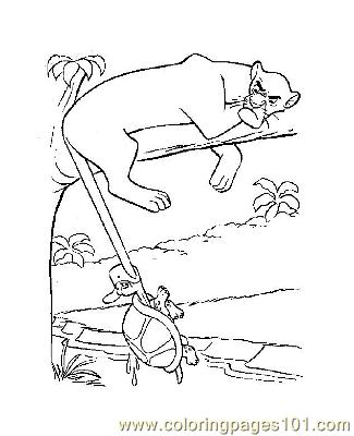 Jungle Book 10 Coloring Page