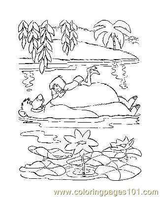 Jungle Book 28 Coloring Page