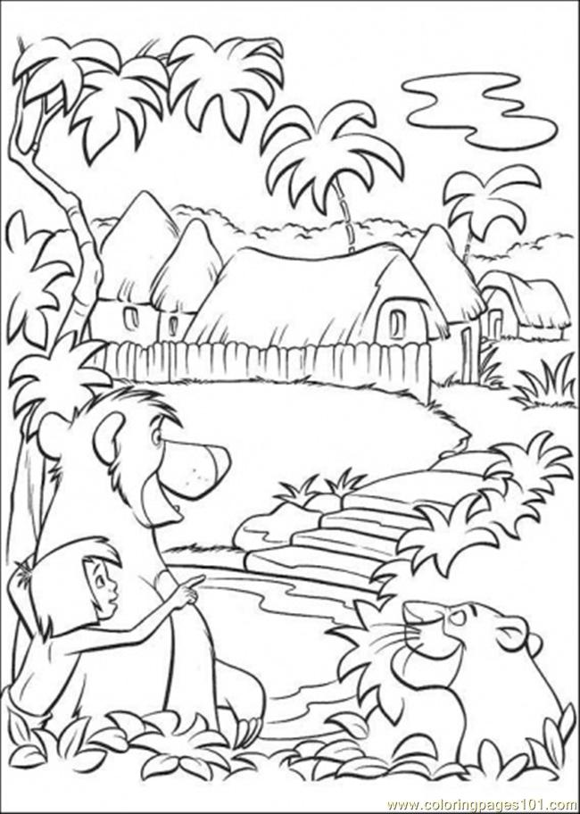They Want To Go To Indian Place Coloring Page