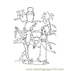 Jungle Book 29 Free Coloring Page for Kids