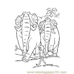 Jungle Book 30 Free Coloring Page for Kids
