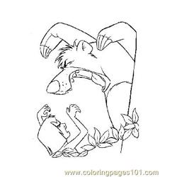 Jungle Book 31 Free Coloring Page for Kids
