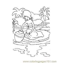 Jungle Book 32 Free Coloring Page for Kids