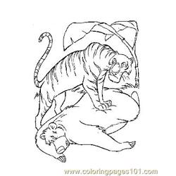 Jungle Book 7 Free Coloring Page for Kids