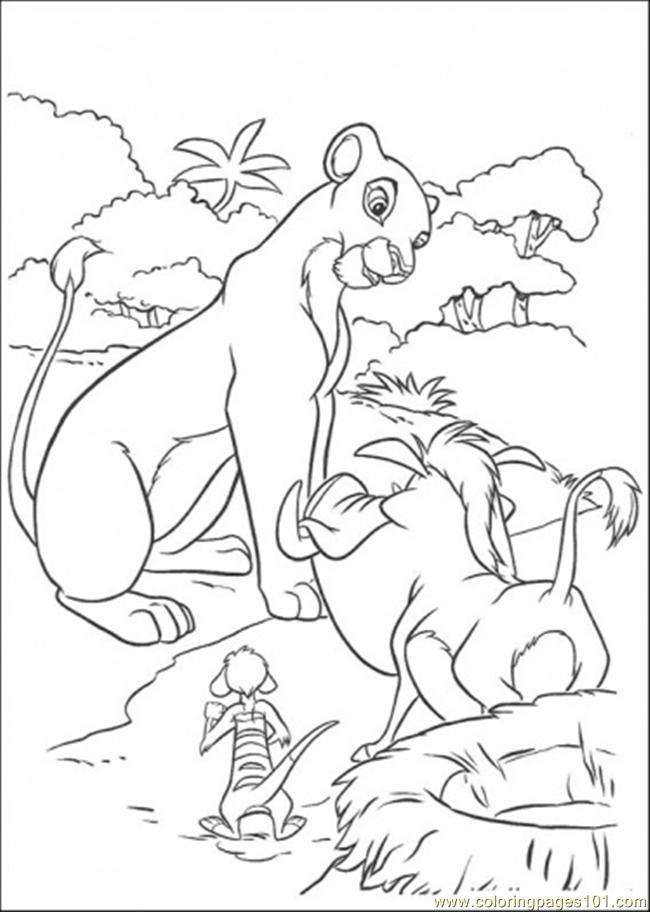 Talking Coloring Page
