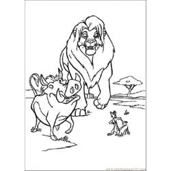 He Lion King 16 Coloring Page