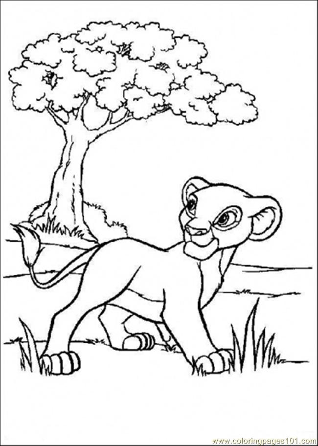 Walking On Coloring Page